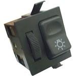 Interruptor de Luz com Reostato 24v - Un90453 Caminhões /ônibus