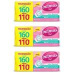 Intimus Days Absorvente Diário Ultra Flexível C/160 (kit C/03)