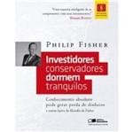 Investidores Conservadores Dormem Tranquilos - Saraiva