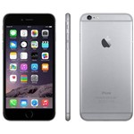 "IPhone 6 Plus 64GB Cinza Espacial Tela Retina de 5.5"" Camera 8MP Touch ID - Apple"