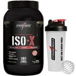 ISO-X Whey Protein Darkness 907g Chocolate + Coqueteleira - Integralmédica