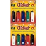 Isqueiro Cricket Original Caixa com 10 Unid 1