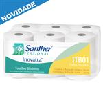 ITB01 - Papel Bobina Santher com 6 Rolos de 200 Metros Cada