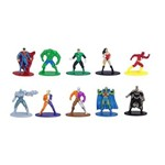 Jada Metal Nano Dc Comics Pack com 10 - DTC