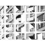 Janelas e Janelas - 47,5 X 36 Cm - Papel Fotográfico Fosco