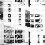 Janelas Escher - 20 X 20 Cm - Papel Fotográfico Fosco