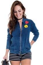 Jaqueta Bomber Jeans Patches JA0025 - G