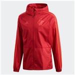 Jaqueta Capa de Chuva Rain Impermeável Flamengo Adidas Vermelha 2018 - CF2541
