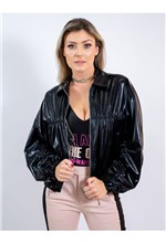 Jaqueta de Malha Lamê - 40
