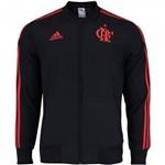 Jaqueta Flamengo Adidas Pré-Jogo Viagem 2018 Preta - CD6268