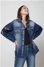 Jaqueta Jeans Silk Jeans - P
