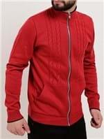 Jaqueta Tricot Masculina Vermelho