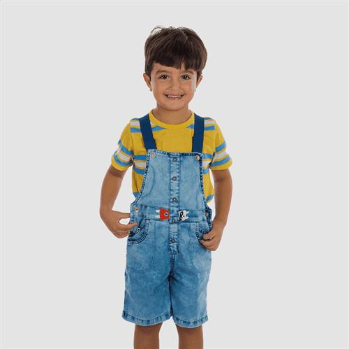 Jardineira Identidade Secreta Jeans/03
