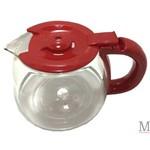 Jarra de Vidro Cafeteira Britania Cp30 Cp 31 Inox Vermelha