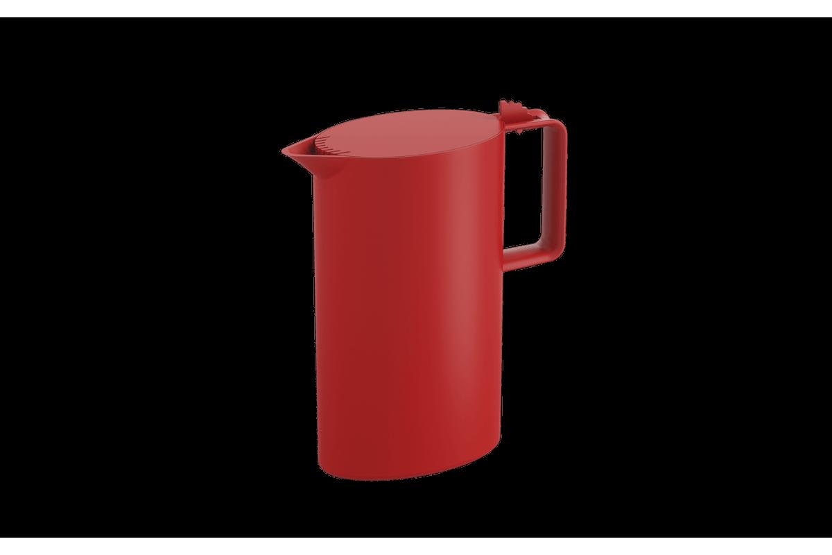 Jarra Porta Geladeira 1,8 L 20,8 X 8,5 X 24 Cm 1,8 L Vermelho Bold Coza