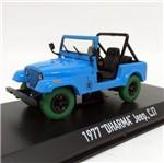 Jeep CJ7 Dharma 1977 Lost 1:43 Green Machine Greenlight