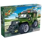Jeep Militar Força Tática 129 Peças - Banbao