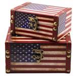 Jg com 2 Baús Porta Objetos América