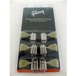 Jg de Tarraxa P Gt 3+3 C Botoes Perolados Gibson Pmmh 010 - Niquelada