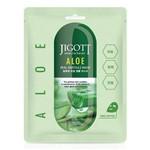 Jigott Aloe Real Ampoule Mask