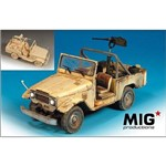 Jipe Toyota Landcruiser Bj-44 (Bandeirante) - Browning Cal.5 - Mig Productions
