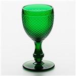 Jogo 6 Taças para Água Bico de Jaca Verde Escuro 234Ml