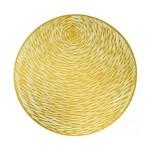 Jogo Americano em Plástico Globe Dourado 38cm 7313 Lyor