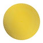 Jogo Americano em Plástico Sussen Dourado 7319 Lyor