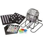 Jogo Bingo Completo com Globo - Tabuleiro - Cartas - Bolas