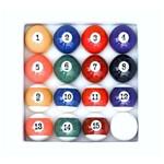 Jogo Bola de Bilhar Sinuca Snooker 52mm com 16 Bolas