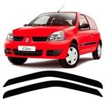 Jogo Calha de Chuva Defletor Renault Clio Fase 2 - 2 Portas