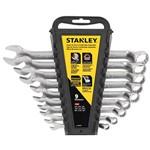 Jogo Chaves Combinadas Anguladas 9 Peças Stanley - STMT74751