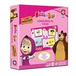 Jogo Conhecendo as Vogais Masha Urso 0038 Estrela