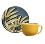 Jogo de 6 Xícaras de Chá com Pires Coup Sumatra 6 Peças