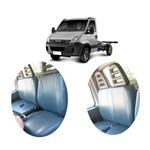 Jogo de Capas P/ Bancos em Courvin para Caminhões Iveco 2008 à 2012