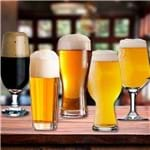 Jogo de Copos para Cerveja 5 Peças Vidro Vidro