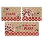 Jogo de Cozinha Jolitex Linha Gourmet 3 Peças Pizza