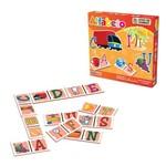Jogo de Dominó Alfabeto em Caixa Cartonada