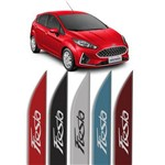 Jogo de Frisos Laterais Ford New Fiesta Original Modelo Faca