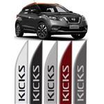 Jogo de Frisos Laterais Nissan Kicks Original Modelo Faca
