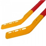 Jogo de Hockey Infantil Conjunto 2 Tacos Bola Disco Hoquei Esporte - Blx8 489000