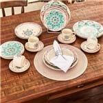 Jogo de Jantar Cerâmica 20 Peças Donna Oxford Perola Perola