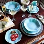 Jogo de Jantar e Chá 30 Peças Ryo Oxford Blue Bay Blue Bay