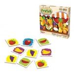 Jogo de Memoria Frutas 24 Peças Ref 209 Ciabrink
