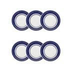 Jogo de Prato Fundo Louça 6 Peças Oxford Colb
