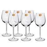 Jogo de Taças 06 Peças para Chardonnay Classic de Cristal 510ml Oxford