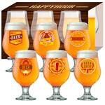 Jogo de Taças Happy Hour Beer Master 380 Ml 06 Peças