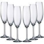 Jogo de Taças para Champagne 6 Peças - Bohemia