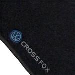 Jogo de Tapete Carpete Crossfox 2004 a 2013 Preto - 5 Peças (Personalizado)