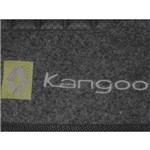 Jogo de Tapete Carpete Kangoo 1999 a 2008 Preto - 2 Peças (Personalizado)